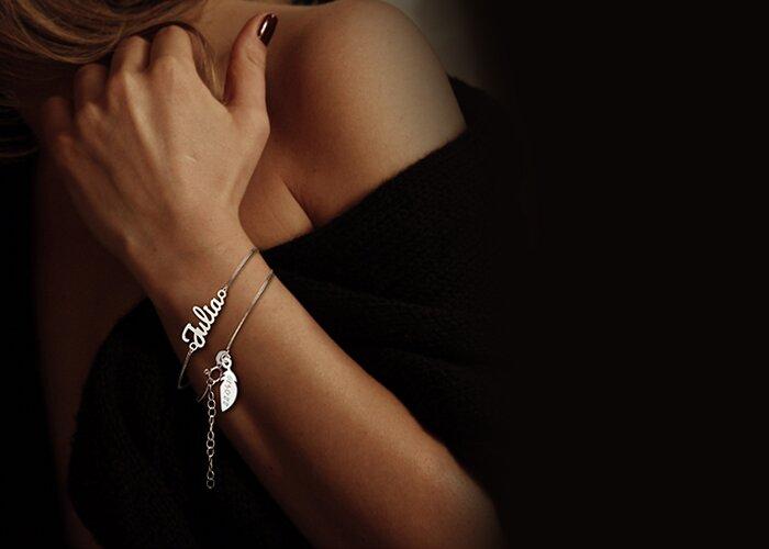 Biżuteria personalizowana z własnym imieniem