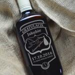 Zdjęcie produktu Bocian - grawerowana whisky Ballantine's z okazji narodzin dziecka