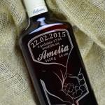Zdjęcie produktu Pierwszy Kontakt - grawerowana whisky Ballantine's z okazji narodzin dziecka