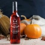 Zdjęcie produktu Krwawa dynia - wino grawerowane na Halloween