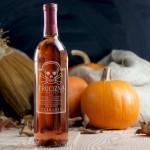 Zdjęcie produktu TRUCIZNA HALLOWEEN`OWA - różowe wino grawerowane na Halloween