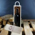 Zdjęcie produktu Ostatnia przystań - skrzynka do wina na wieczór kawalerski