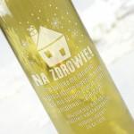 Zdjęcie produktu Rozhulane Święta - grawerowane wino na Gwiazdkę