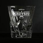 Zdjęcie produktu Star - grawerowana szklanka do whisky