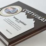 Zdjęcie produktu Certyfikat ukończenia kursu - dyplom grawerowany
