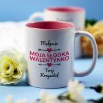 Zdjęcie produktu Słodka Walentynka - kubek z personalizacją