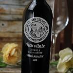 Zdjęcie produktu Moc Życzeń - grawerowane wino z personalizacją