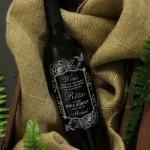 Zdjęcie produktu Róża - grawerowane wino z personalizacją na dowolną okazję