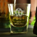 Zdjęcie produktu Monogram Glass - grawerowana szklanka z inicjałami