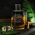 Zdjęcie produktu Cigar Club - personalizowana karafka w zestawie z 6 grawerowanymi szklankami
