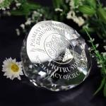 Zdjęcie produktu Kryształ - grawerowana pamiątka I Komunii Świętej z personalizacją