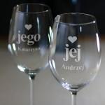 Zdjęcie produktu Zestaw kieliszków do wina, dla pary
