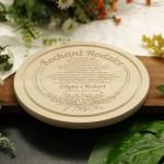 Zdjęcie produktu Dear Parents - grawerowana deska kuchenna z personalizacją - podziękowanie dla Rodziców
