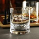 Zdjęcie produktu Dobry Trunek - grawerowana szklanka z personalizacjądla dziadka