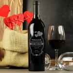 Zdjęcie produktu Kocham Cię - grawerowane wino z personalizacjądla ukochanej osoby