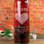 Zdjęcie produktu Spotkajmy Się - grawerowane wino z personalizacją dla ukochanej osoby