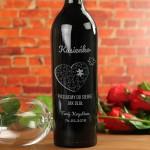 Zdjęcie produktu Puzzel - grawerowane wino z personalizacjądla ukochanej osoby