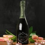 Zdjęcie produktu Za Miłość! - grawerowane wino musujące Prosecco z personalizacją dla ukochanej osoby