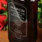 Zdjęcie produktu Rakieta Miłości - grawerowana whisky Ballantine's dla ukochanej osoby