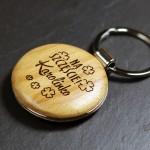 Zdjęcie produktu Koniczynka na Szczęście - grawerowany brelok z personalizacją