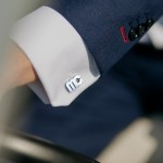 Zdjęcie produktu Inicjały Modern - personalizowane spinki do mankietów