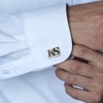 Zdjęcie produktu Inicjały Classic - personalizowane spinki do mankietów