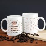 Zdjęcie produktu Ulubiona Kawa Dziadka - personalizowany kubek dla dziadka