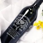 Zdjęcie produktu Dla Kochanych Rodziców - grawerowane wino z personalizacją dla rodziców