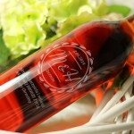 Zdjęcie produktu Wino z Inicjałami - grawerowane wino na ślub