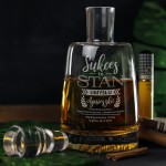 Zdjęcie produktu Sukces - personalizowana karafka w zestawie z 6 grawerowanymi szklankami