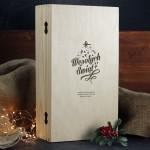 Zdjęcie produktu Świąteczne Życzenia - whisky Ballantine's w świątecznej oprawie