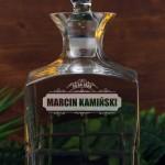 Zdjęcie produktu Cut - grawerowana karafka w zestawie z 6 szklankami z personalizacją dla niego