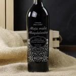 Zdjęcie produktu Grawerowane wino z personalizacją na dowolną okazję