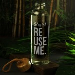 Zdjęcie produktu Reuse Me - grawerowana butelka szklana z personalizacją
