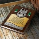 Zdjęcie produktu Przysięga Wojskowa - grawerowany dyplom z personalizacjądla wojskowego