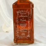 Zdjęcie produktu Przysięgą Złączeni - grawerowana whiskey z personalizacją na Ślub