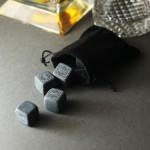 Zdjęcie produktu Kostki kamienne do whisky z wygrawerowanym imieniem