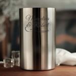 Zdjęcie produktu Grawerowany Moët & Chandon w zestawie z personalizowanymi kieliszkami i chłodziarką na Ślub