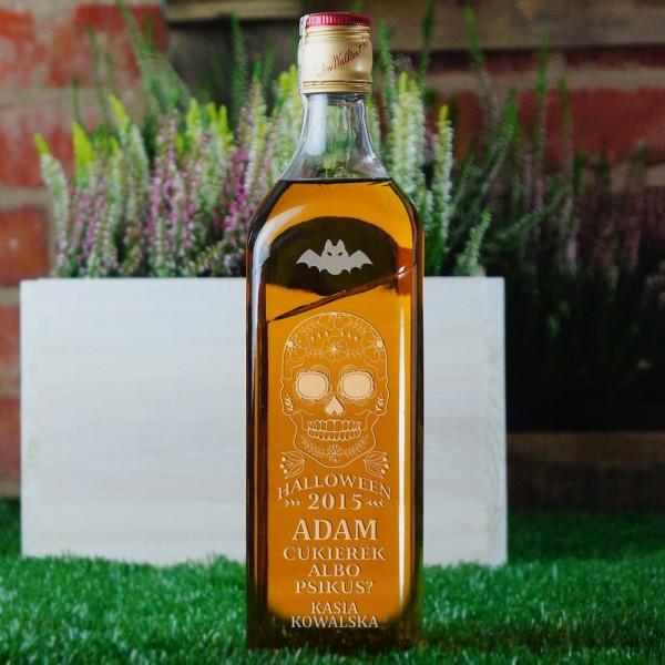 Cukierek Albo Psikus - grawerowana whisky Johnnie Walker na Halloween