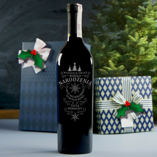 Bożonarodzeniowe Wino Czerwone Ao010 Sklep Internetowy Sygnatpl