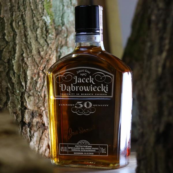 Gentle Jack - urodzinowa whisky Jack Daniel's Gentleman Jack z grawerem