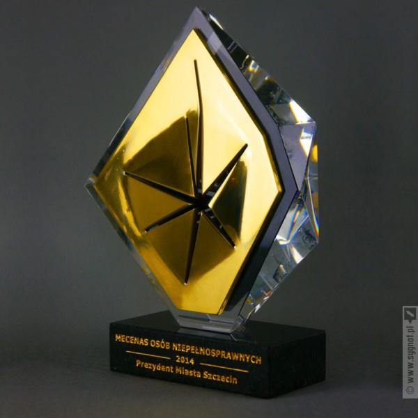 Kryształowy Przełom - statuetka okolicznościowa