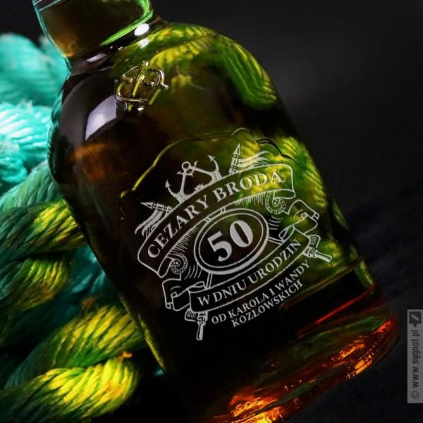 Szlachetne Urodziny - grawerowana whisky Chivas Regal
