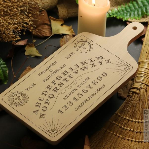Ouija Board - grawerowana deska do krojenia na Halloween