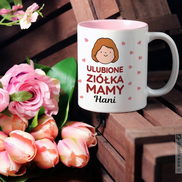 Herbata Ziołowa Mamy - kubek z personalizacją dla mamy
