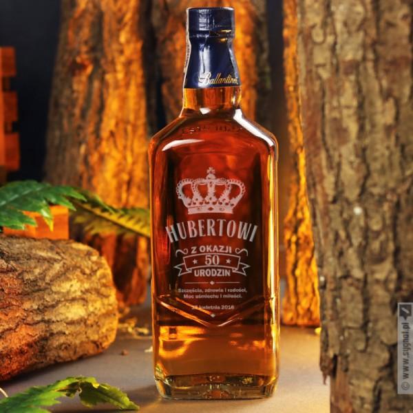 Z Okazji Urodzin - grawerowana whisky Ballantine's na urodziny