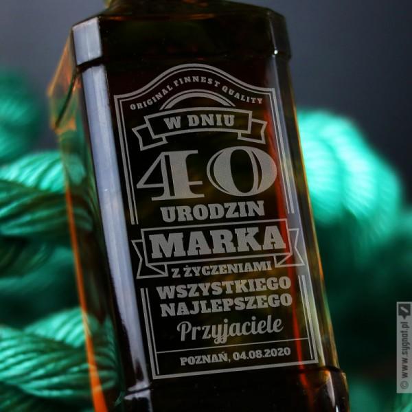Bday Jack - Grawerowana whiskey na urodziny