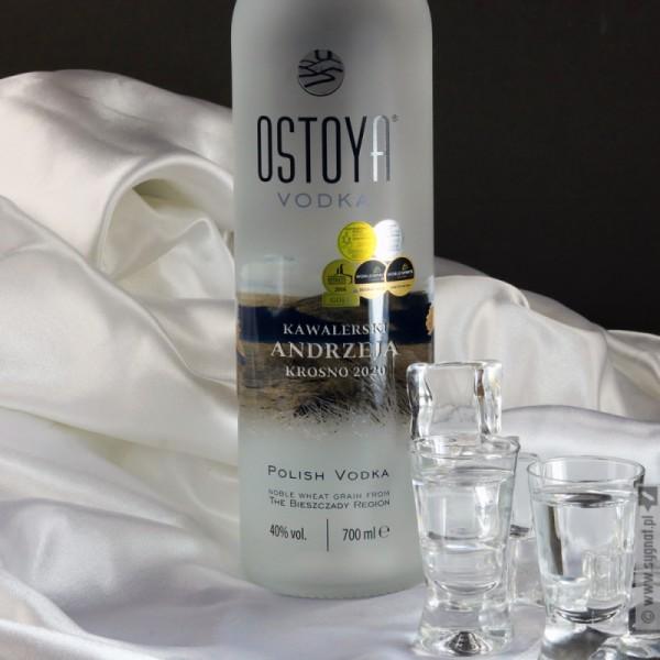 Wódka Kawalerska - grawerowana OSTOYA z personalizacją na Wieczór Kawalerski