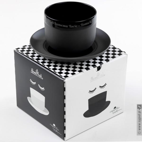 Melonik - grawerowana filiżanka porcelanowa Rosenthal z personalizacją