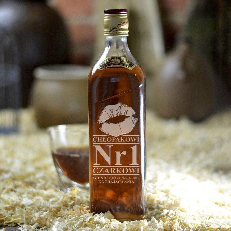 Zdjęcie produktu Big Love - grawerowana whisky Johnnie Walker dla chłopaka